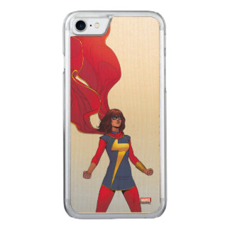 Ms. Marvel Comic #3 Carved iPhone 8/7 Case
