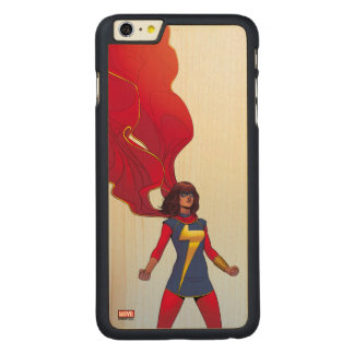 Ms. Marvel Comic #3 Carved® Maple iPhone 6 Plus Case