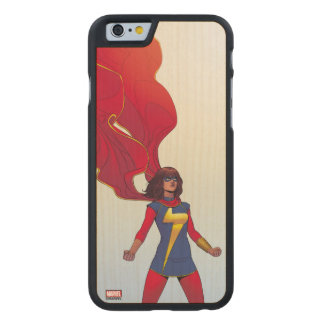 Ms. Marvel Comic #3 Carved® Maple iPhone 6 Slim Case