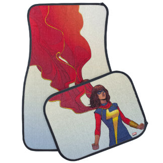 Ms. Marvel Comic #3 Floor Mat