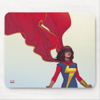 Ms. Marvel Comic #3 Mouse Pad