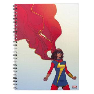 Ms. Marvel Comic #3 Notebooks