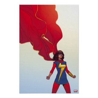 Ms. Marvel Comic #3 Poster