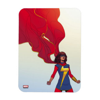 Ms. Marvel Comic #3 Rectangular Photo Magnet