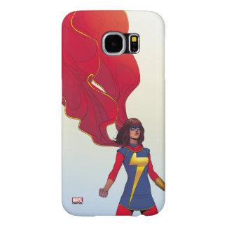 Ms. Marvel Comic #3 Samsung Galaxy S6 Cases