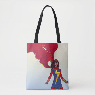 Ms. Marvel Comic #3 Tote Bag