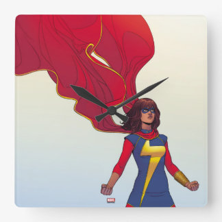Ms. Marvel Comic #3 Wallclocks