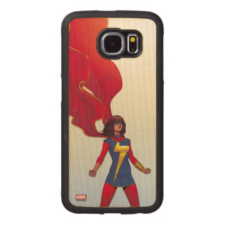 Ms. Marvel Comic #3 Wood Phone Case