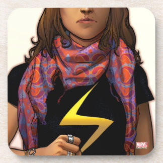 Ms. Marvel Comic Cover #1 Drink Coaster