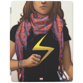 Ms. Marvel Comic Cover #1 iPad Cover