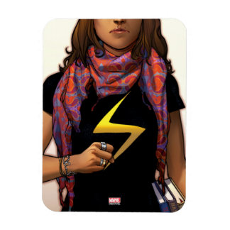Ms. Marvel Comic Cover #1 Rectangular Photo Magnet