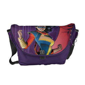Ms. Marvel Comic Cover #1 Variant Commuter Bag