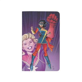 Ms. Marvel Comic Cover #1 Variant Journal