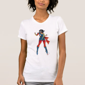 Ms. Marvel Comic Cover #1 Variant T-Shirt