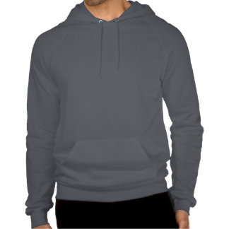 Ms. Moxie Mens American Apparel Hooded Sweatshirt
