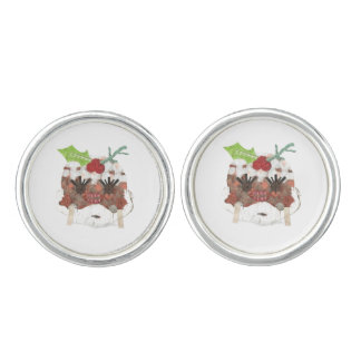 Ms Pudding Cufflinks