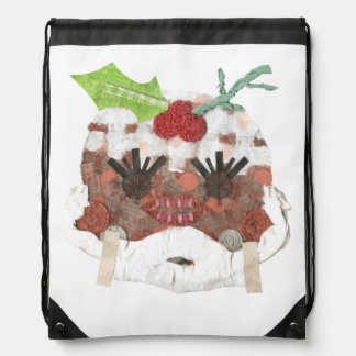 Ms Pudding Drawstring Bag