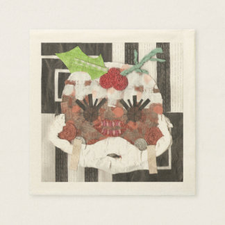 Ms Pudding Ecru Napkins Paper Napkin