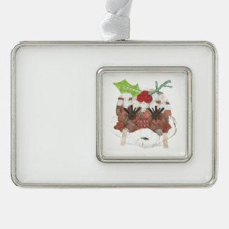 Ms Pudding Framed Ornament