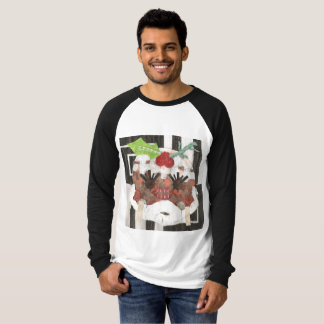 Ms Pudding Men's Raglan Top