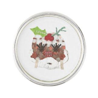 Ms Pudding Ring Lapel Pin