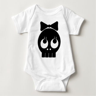 Ms.SKULL Baby Bodysuit