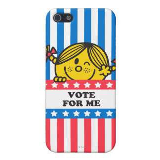 Ms. Sunshine Vote For Me Banner Case For The iPhone 5