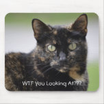 Ms. Sweetpea the Tortie Mousepad