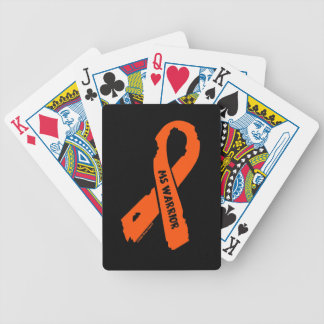 MS WARRIOR/ torn ribbon Bicycle Playing Cards