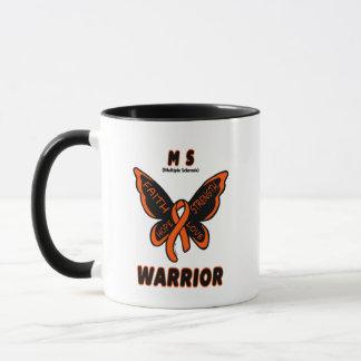 MS WARRIOR/ torn ribbon Mug