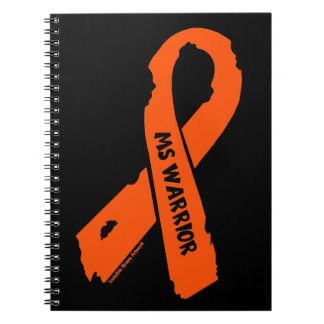 MS WARRIOR/ torn ribbon Notebooks