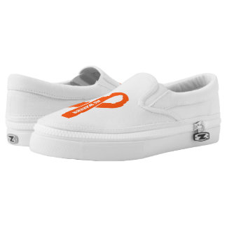 MS WARRIOR/ torn ribbon Slip-On Shoes