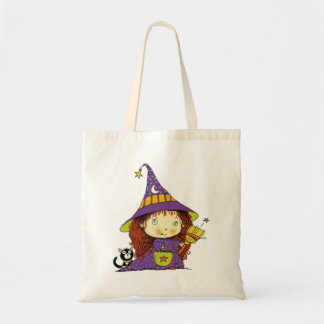 Ms. Witch Halloween Tote Bag Budget Tote Bag