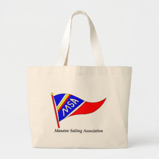MSA logo text Large Tote Bag