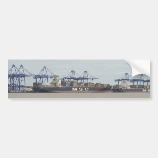 MSC Container Ships Bumper Stickers