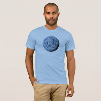 MST3K Moon T-Shirt (Baby Blue)