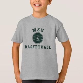 MSU Basketball   Michigan State University 3 T-Shirt