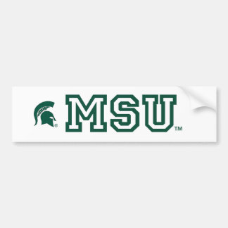 MSU™ Michigan State University® Fan Bumper Sticker