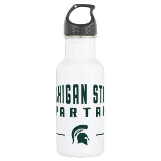 MSU Pennant | Michigan State University 532 Ml Water Bottle