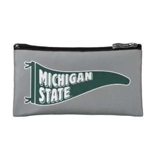 MSU Spartans | Michigan State University 4 Cosmetic Bag