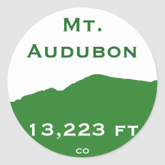 Mt. Audubon Sticker