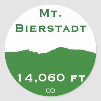 Mt. Bierstadt Sticker