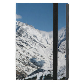 Mt. Blanc with clouds. iPad Mini Case