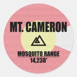 Mt. Cameron Classic Round Sticker
