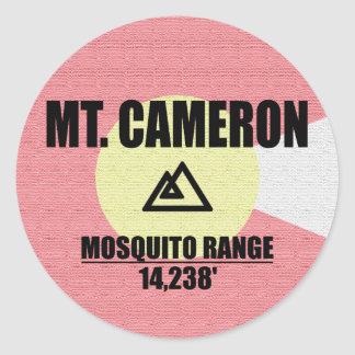 Mt. Cameron Round Sticker