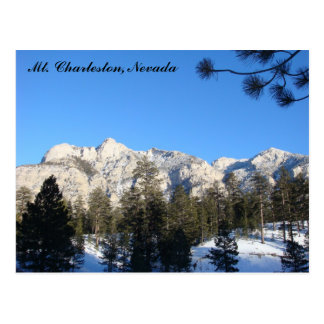 Mt Charleston Postcard