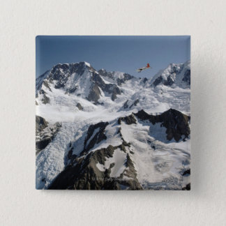 Mt Cook, New Zealand 15 Cm Square Badge