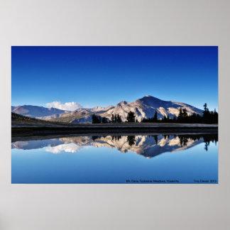 Mt. Dana, Tuolumne Meadows, Yosemite, CA. Poster