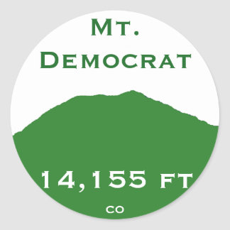 Mt. Democrat Sticker