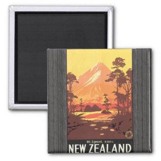 Mt. Egmont. 8,260 Ft. New Zealand, Vintage Magnet